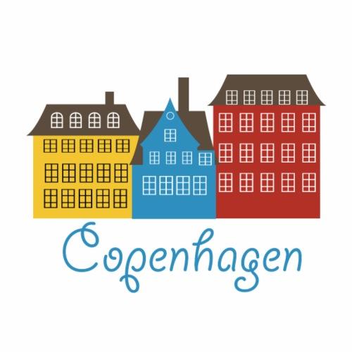 Cute Copenhagen Logo Gift Present Idea - Men's Premium T-Shirt