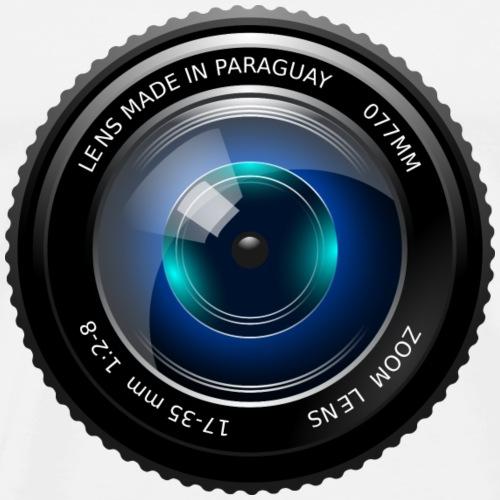 Camera Lense Design - Men's Premium T-Shirt