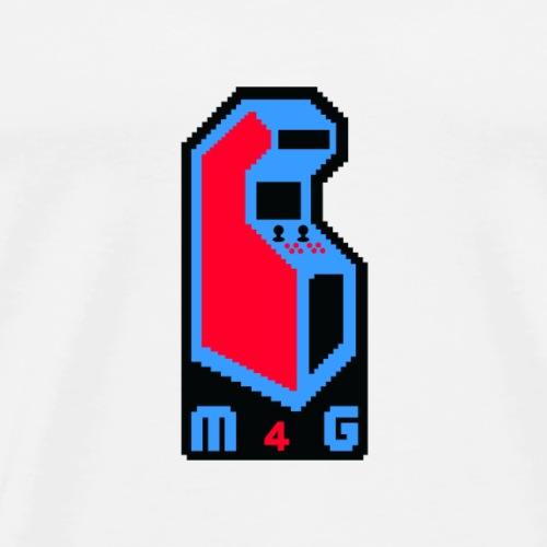 M4G Logo - Men's Premium T-Shirt