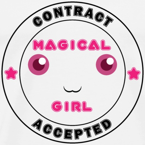 Magical Girl Contract Accepted - Men's Premium T-Shirt