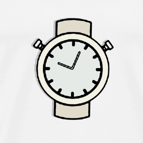 Cartoon Watch - Men's Premium T-Shirt