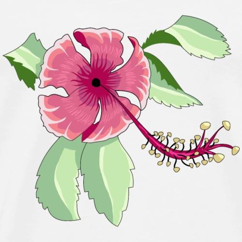 Hibiscus flower - Men's Premium T-Shirt