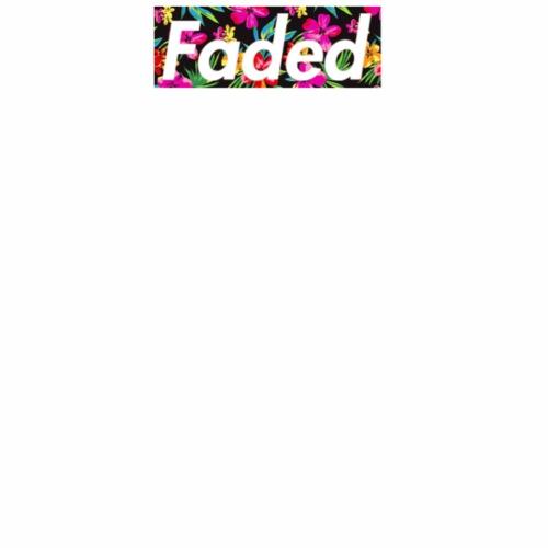 (LIMITED EDITION) Faded Box Logo - Hawaiian Dream - Men's Premium T-Shirt