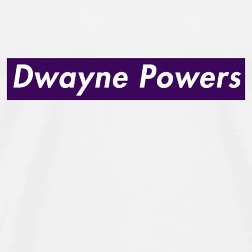 Dwayne Powers Main Logo 2 - Men's Premium T-Shirt