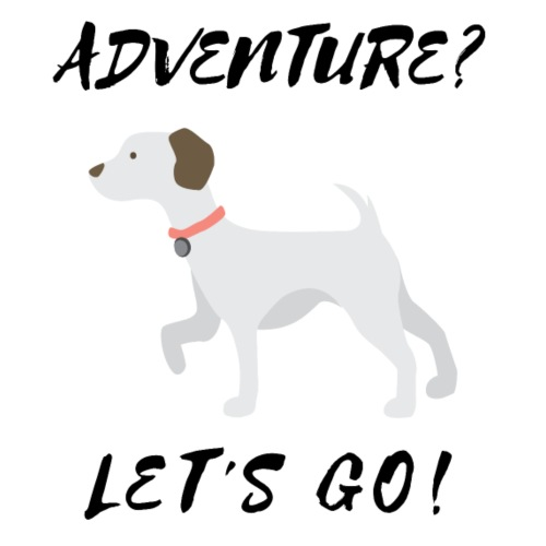 DOG - adventure - Men's Premium T-Shirt
