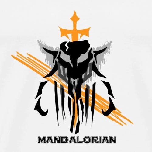 Mandalorian Logo - Men's Premium T-Shirt