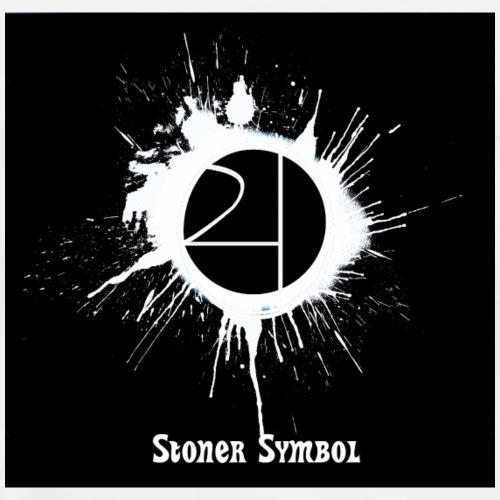 Stoner Symbol Inverted - Men's Premium T-Shirt