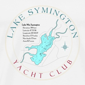 Lake Symington Yacht Club - Men's Premium T-Shirt