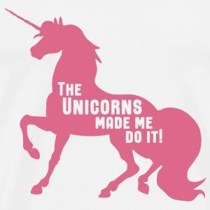 Unicorns Made Me - Men's Premium T-Shirt