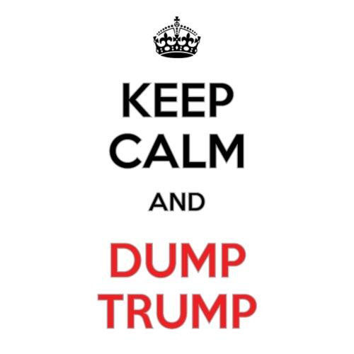 Keep Calm. Dump Trump - Men's Premium T-Shirt