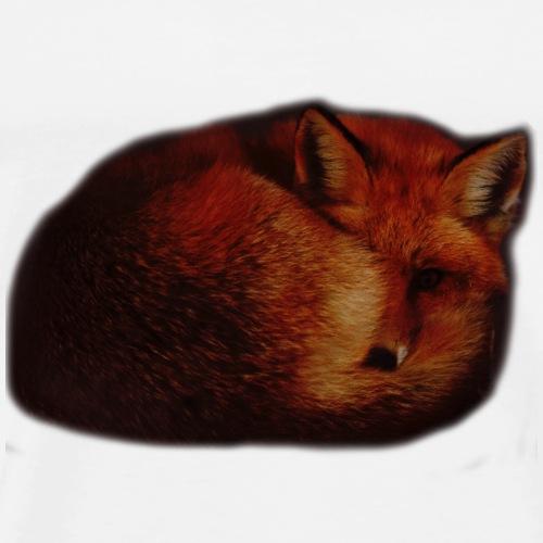 snow fox - Men's Premium T-Shirt