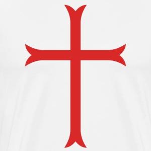 Crusader Cross - Men's Premium T-Shirt
