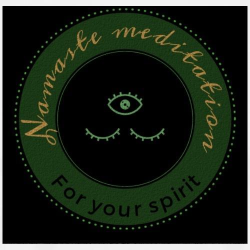 Namaste medition African logo - Men's Premium T-Shirt