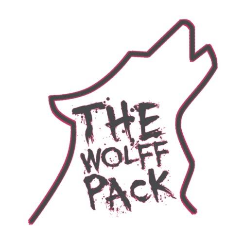 Wolff Pack Hot Pink - Men's Premium T-Shirt