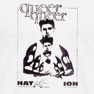 Queer Queer Nation - Men's Premium T-Shirt