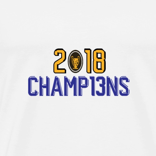 2018 champions - Men's Premium T-Shirt