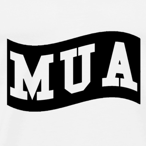 mua black - Men's Premium T-Shirt