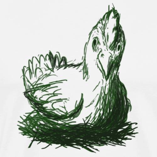 Mad Chicken - Men's Premium T-Shirt