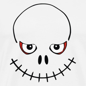 Halloween Skull Smile - Men's Premium T-Shirt