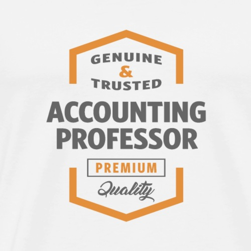 Accounting Professor - Men's Premium T-Shirt