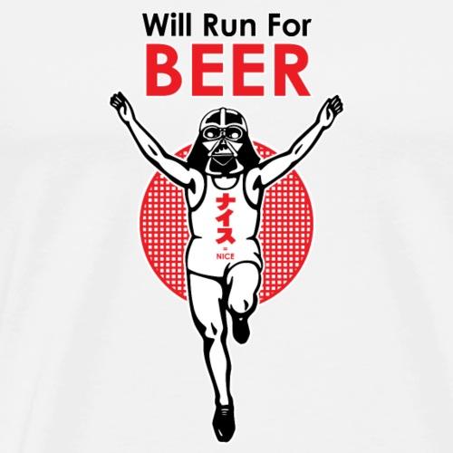 Run for beer t-shirt - Men's Premium T-Shirt