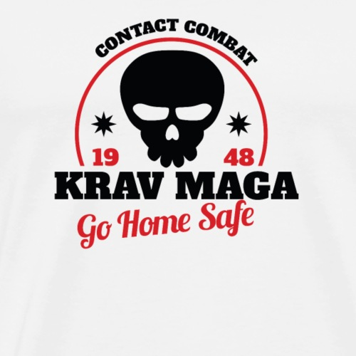 Krav Maga Contact Combat Design - Men's Premium T-Shirt