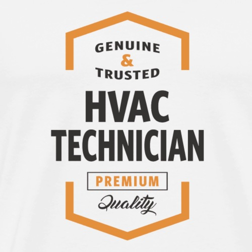 HVAC Technician Logo Gifts - Men's Premium T-Shirt