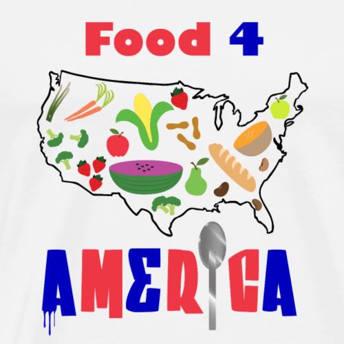 F4A (Food 4 America) Tee 2018 - Men's Premium T-Shirt