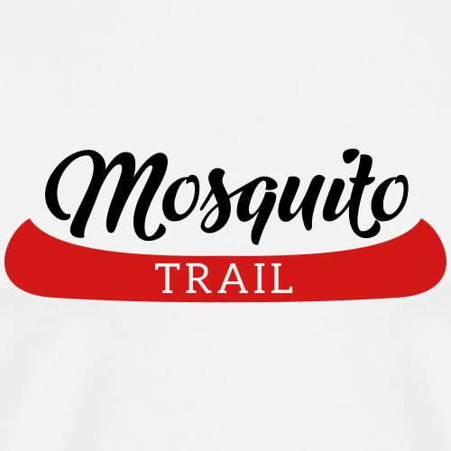 Mosquito Trail Canoe - Men's Premium T-Shirt