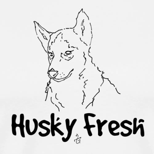 Dog Shirt | Husky Fresh 3rd - Men's Premium T-Shirt