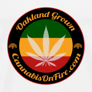 T-shirts Oakland Grown Cannabis 420 wear tshirts - Men's Premium T-Shirt