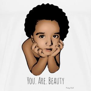 You.Are.Beauty - Men's Premium T-Shirt