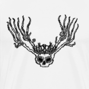 Father Hart Skull - Men's Premium T-Shirt