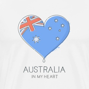 Australia In My Heart - Men's Premium T-Shirt
