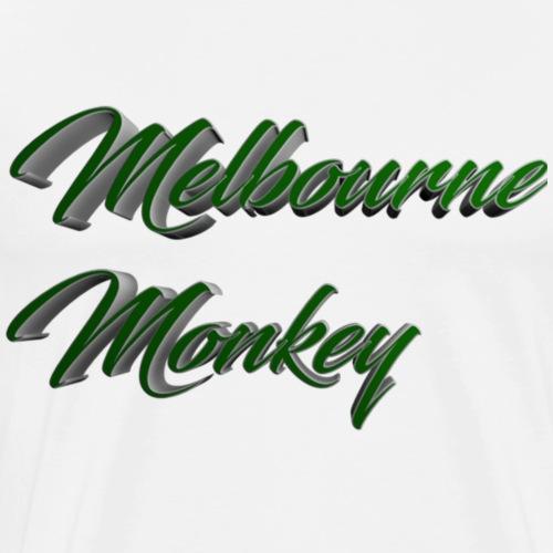 Melbourne Monkey 3 - Men's Premium T-Shirt
