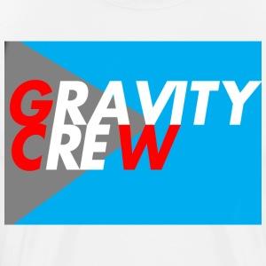 Gravity Crew Blue - Men's Premium T-Shirt