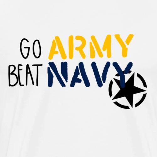 Go Army, Beat Navy - Men's Premium T-Shirt