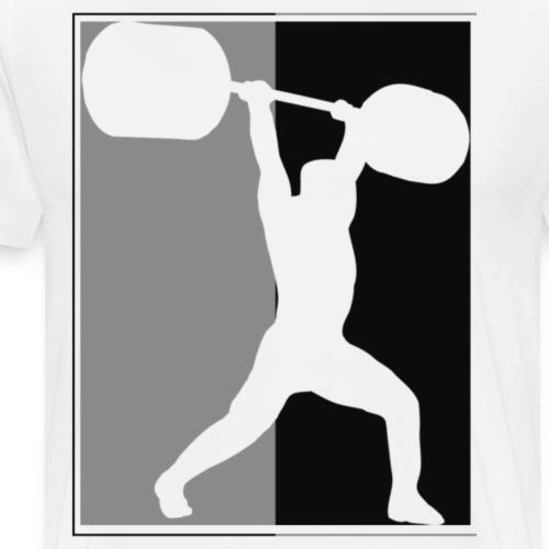 Clean and jerk - Men's Premium T-Shirt
