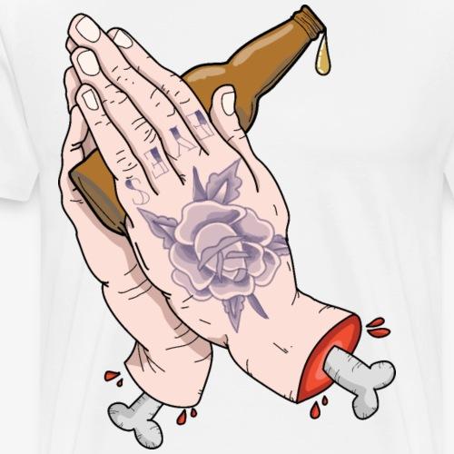 Praying For Beer - Men's Premium T-Shirt