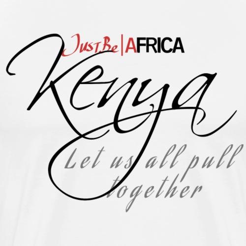 Kenya Sleek - Light - Men's Premium T-Shirt