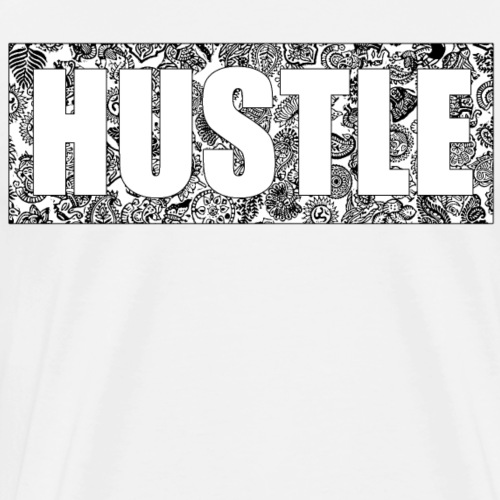 Hustle black'n'white - Men's Premium T-Shirt