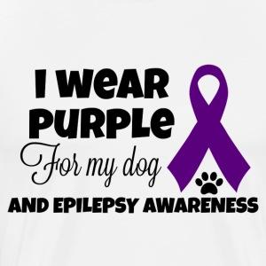 I Wear Purple - Men's Premium T-Shirt