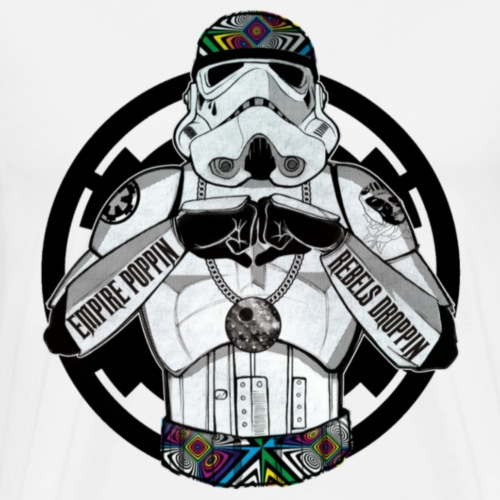 Star wars storm trooper popin - Men's Premium T-Shirt