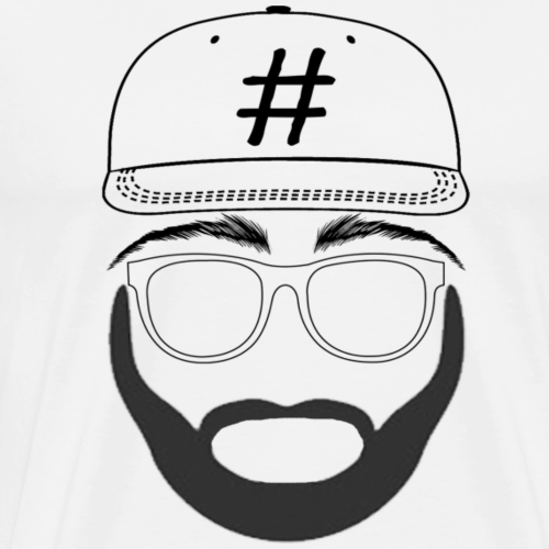 Hashtag Man - Men's Premium T-Shirt