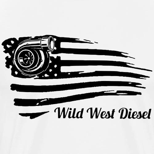 wwd turbo flag - Men's Premium T-Shirt