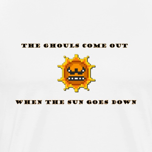 Mario sun Halloween - Men's Premium T-Shirt