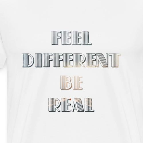Realistic & Differences T-shirt's - Men's Premium T-Shirt