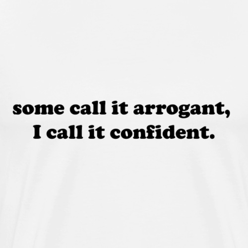 confident - Men's Premium T-Shirt