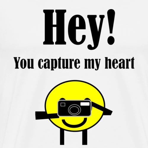 Capture My Heart - Men's Premium T-Shirt