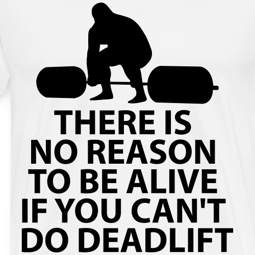 deadlift - Men's Premium T-Shirt